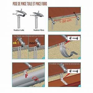 Schema Pose Plaque Fibro Ciment : fixation tuile acier galva brut brico toiture ~ Dailycaller-alerts.com Idées de Décoration