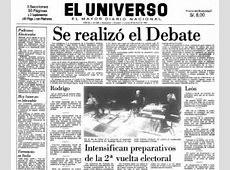 FebresCordero y Borja, el debate más recordado en Ecuador