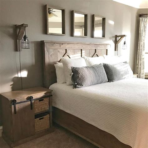 diy rustic bedroom set plans  shantys tutorials