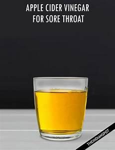 APPLE CIDER VINEGAR FOR SORE THROAT - THEINDIANSPOT.COM