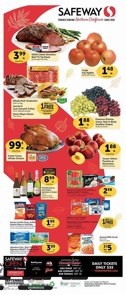 Safeway Flyer Weekly Ad Sep September Flyers