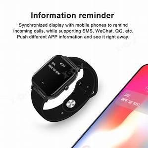 Xgody Waterproof Smart Watch Bracelet Sleep Monitor Fitness Tracker Wristband