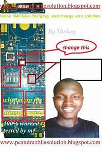 Tecno T340 Fake Charging Solution