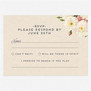 reply postcards quoti promise to dance if you play With pictures of wedding rsvp cards