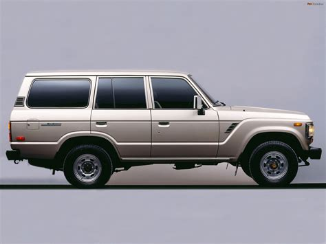 Toyota Land Cruiser 60 US-spec (FJ62) 1987–89 wallpapers ...