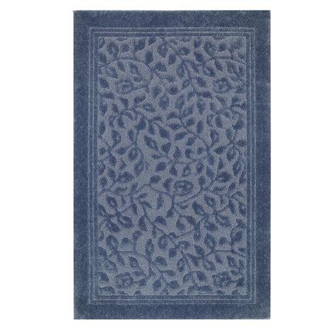 mohawk wellington vine blue rug altmeyers bedbathhome