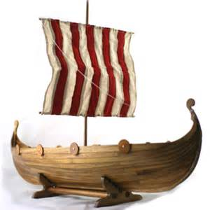 keepsake for ashes viking longship urn scattering on water