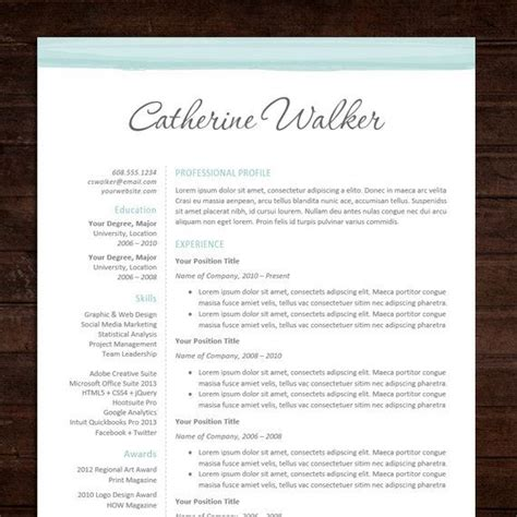Beautiful Resume Templates by Docs Resume Template Professional Resume Cv