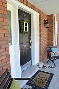 paint front door How to Paint a Door
