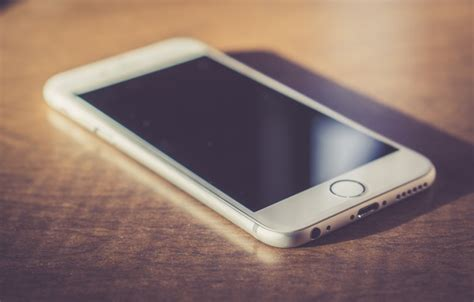 Обои белый, телефон, Iphone, экран, айфон картинки на
