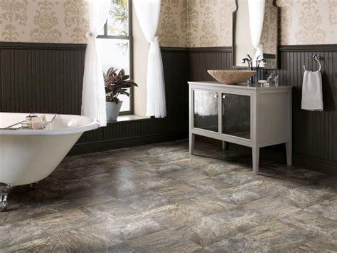bathroom flooring ideas vinyl vinyl bathroom floors hgtv