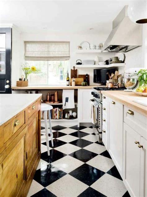 cuisine carrelage blanc cuisine marbre noir et bois chaios com