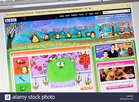 website bbeebies stock 35835935 alamy