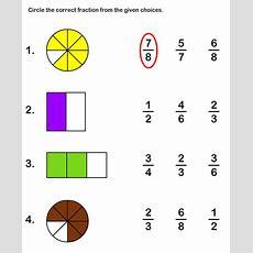 New 860 Fraction Match Up Worksheet  Fraction Worksheet