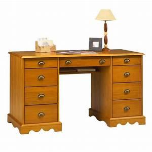 Bureau De Style : bureau du notaire pin massif miel de style anglais maison et styles ~ Teatrodelosmanantiales.com Idées de Décoration