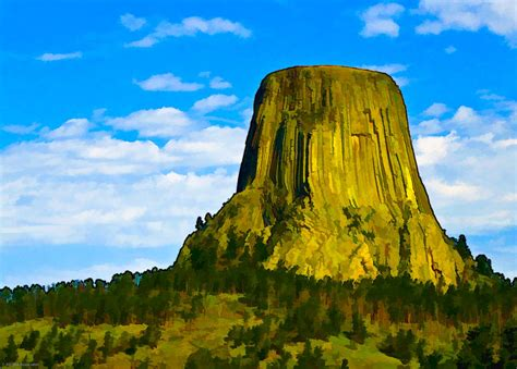 Devils Tower By Ches Black