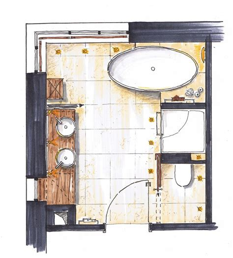 Moderne Badezimmer Grundrisse by 25 Best Ideas About Bathroom Layout On