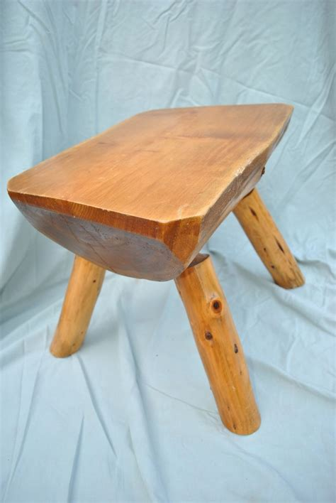 Log Stool - custom made log stool by phil s woodwork custommade