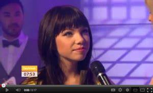 [Video] Carly Ray Jepsen mentions Milay Cyrus on Day Break