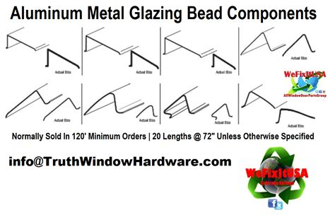 metal glazing bead aluminum extrusion snap  metal glazing bead parts truth window hardware
