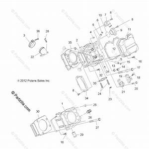 Polaris Atv 2013 Oem Parts Diagram For Engine