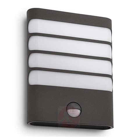 philips raccoon led wall light philips raccoon led outdoor wall light anthracite lights ie