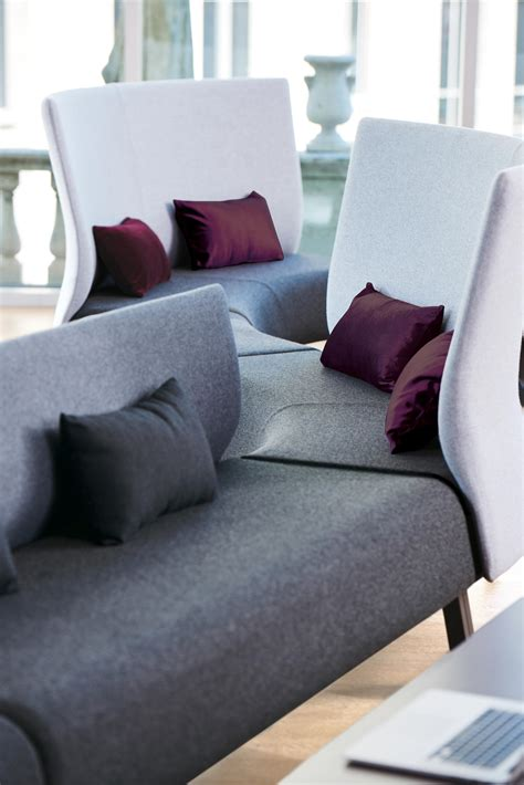 zones modular seating sofas  teknion architonic