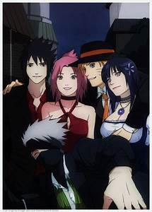Sasuke, Sakura, Naruto, Hinata, and Kakashi!! ....one ...