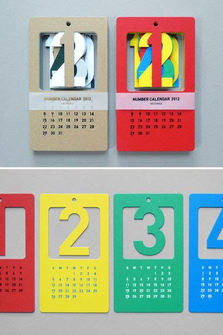 Tipe 12 bulan dalam 6 lembar. Referensi Desain Kalender Dinding Inspiratif   Tumpi.id