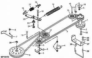Drive Belt Routing For Sabre Model  1742hs