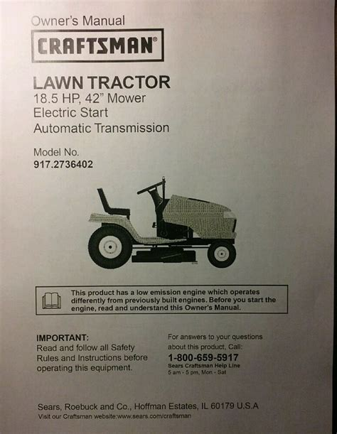 Sears Garden Tractor Parts by Sears Craftsman Dyt4000 Lawn Tractor Owner Parts