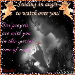 Angels to Watch Over You and Sending Prayers Images
