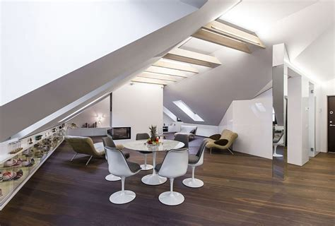 attic apartments small modern attic apartment in vilnius by by ycl studio