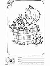 Coloring Bubble Bath Pages Precious Moments Drawing Boy Angel Printable Baths Getcolorings Drawings Getdrawings Ginormasource sketch template