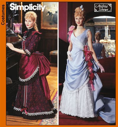 victorian dress patterns design