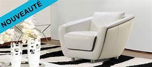 Canapé Cuir Fauteuil : fauteuil cuir flak ~ Premium-room.com Idées de Décoration