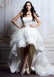 short white wedding dresses for wedding party in summer With short white wedding reception dress