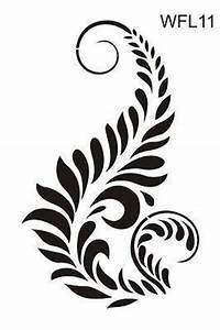 stencil flowers designs - Google Search   Line/Ink images ...