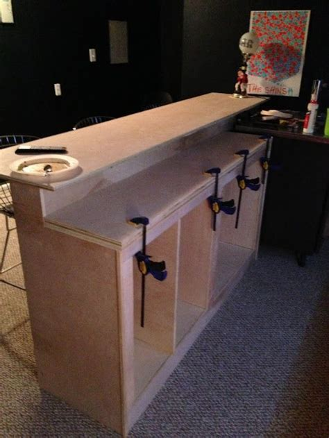 How To Make A Bar by Diy Bar Tutorial This Sure Would Be Cool In My Basement