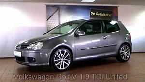 Volkswagen Golf V : volkswagen golf v 1 9 tdi united dpf 2008 united grey 8w339043 youtube ~ Melissatoandfro.com Idées de Décoration