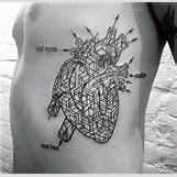 Anatomical Heart Tattoo Black And White | 600 x 582 jpeg 71kB