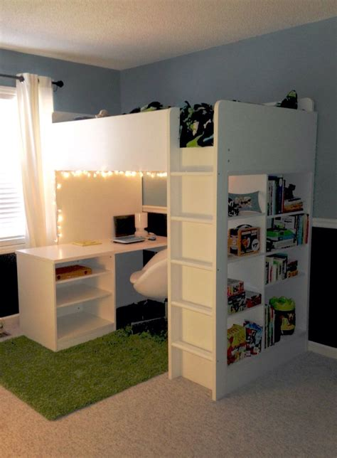 buy loft bed with desk for small room space