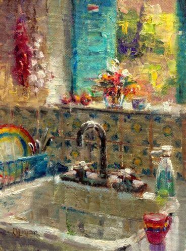 paint kitchen sink mejores 1372 im 225 genes de pintores actuales en 1372