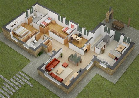 two bedroom houses 25 two bedroom house apartment floor plans