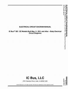 Navistar Ic Bus Be Radiator Cooling System Service Manual