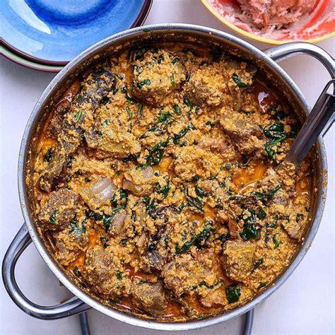 nigerian soups    egusi soup recipe hungryng