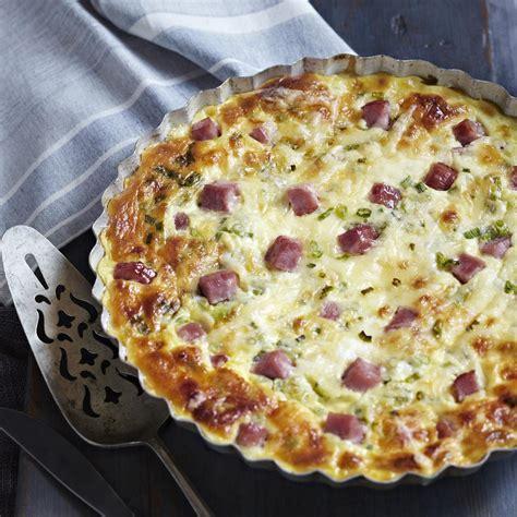 comment faire une table de cuisine comment faire une quiche aux lardons express plats cuisine