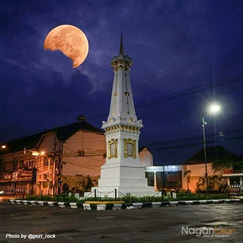 sejarah tugu jogja berada  tengah kota yogyakarta