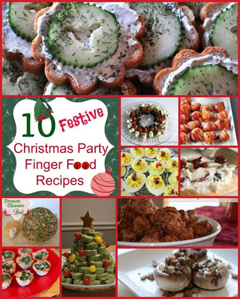 classical homemaking 10 festive christmas party finger