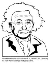 Famous People coloring sheets (along with dozens of other